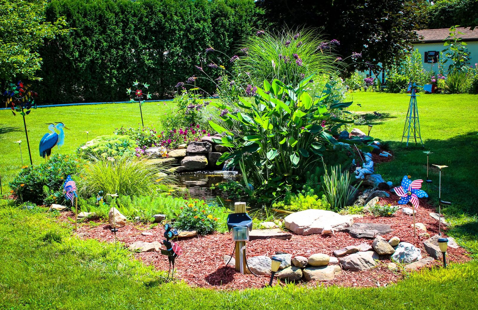 Philadelphia water garden